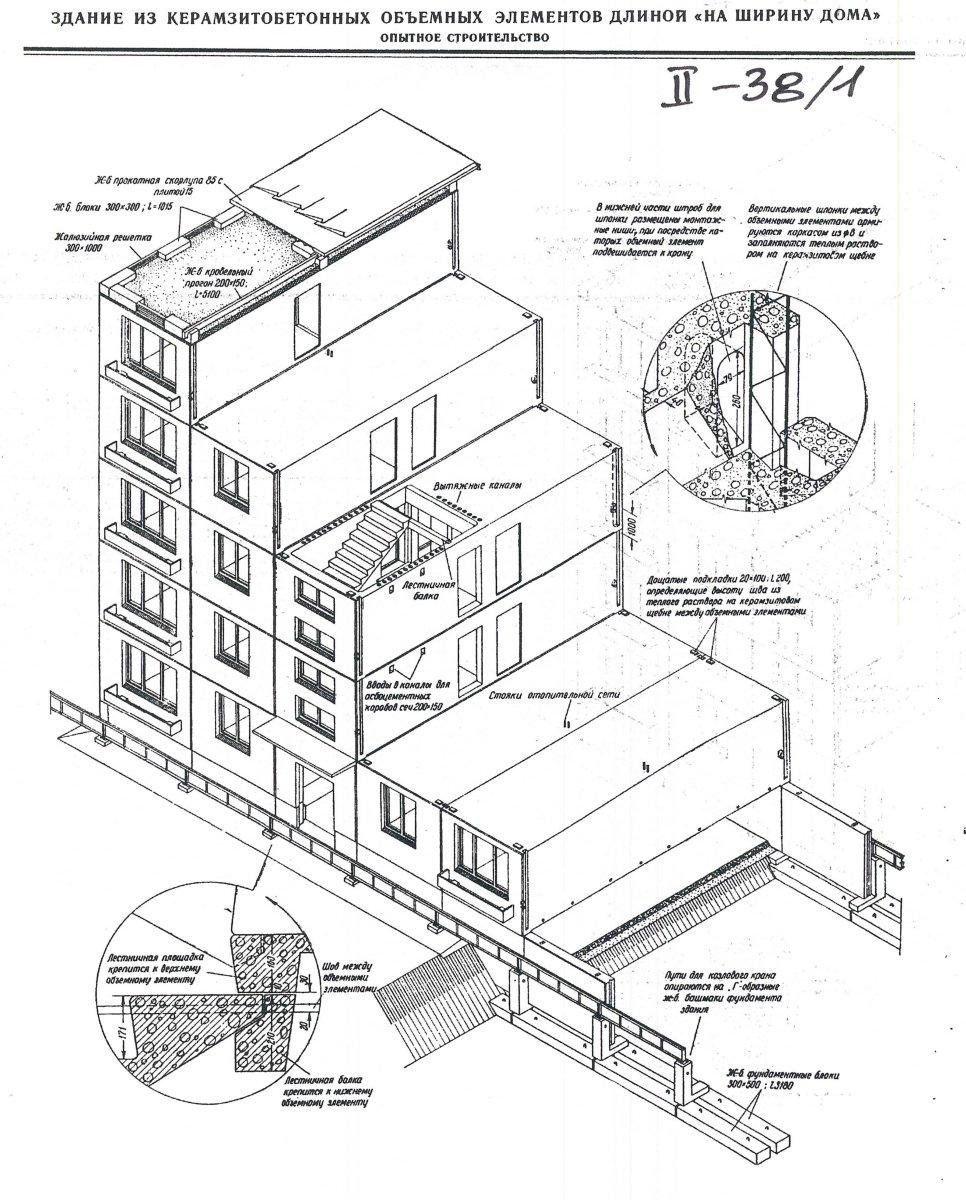 Схемы панельных зданий.