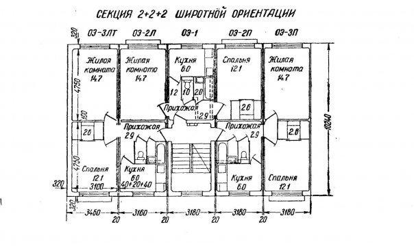 Панельные 5-этажные дома из